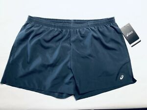 NWT Asics Women's Pocketed Running Shorts 3.5 Quick Dry Teal SIZE XL New A162 $8.00