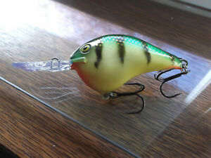 Custom Painted Rapala Wood DT 10DT 10Northern Perch