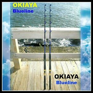 SALTWATER FISHING RODS 30-50LB (2 PACK)
