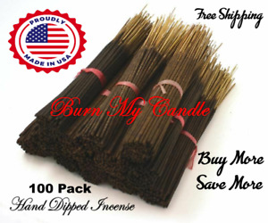 INCENSE STICKS PUNK HEAVILY SCENTED HANDMADE  ~ Bulk Wholesale ~ 100 pack ~
