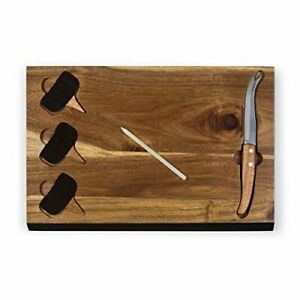 Picnic Time TOSCANA - a Picnic Time Brand Delio Cutting Board and Cheese Tool...