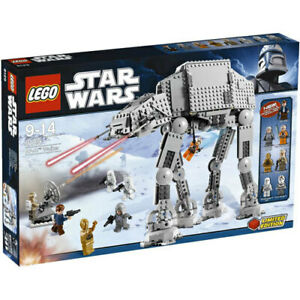 LEGO Star Wars AT-AT WALKER 8129 Veers C-3PO Han Luke Sealed NIB Retired