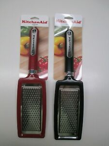 KitchenAid flat grater for chocolate, cheese, vegetables empire red or black