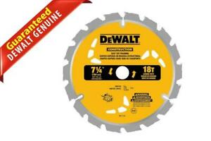DeWalt Construction Fast Cut Framing Circular Saw Blades 18T 7-1/4