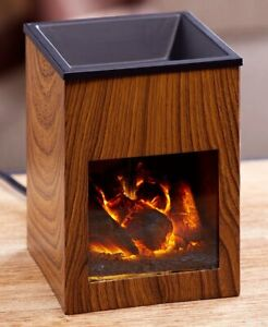 Fireplace Tart Warmer Small Electric Fireplace for Melting Wax Tarts