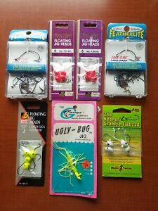 Vintage Fishing Jig Lures And Hooks