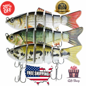 Original New Bass Fishing Lure Robotic Swimming Free Shipping- USA STOCK