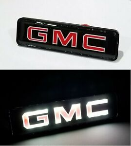 GMC LED Logo Light Car For Front Grille Badge Illuminated Decal Sticker $11.28