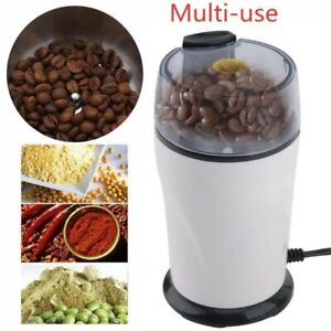 Electric Coffee Bean Grinder Stainless Steel Blades Cafe Spice Mill Blender 100W $19.39