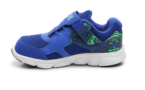 Boy's Toddler UNDER ARMOUR THRILL AC Blue+Green Running Casual Shoes 5K $35.00