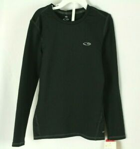 C9 Champion Boys Shirt Duo Dry Compression Fitted Black Size M 8 10 $9.99