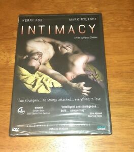 Intimacy DVD 2004 Factory Sealed Rare
