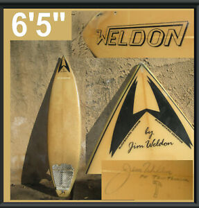 Surfboard Designs by Jim Weldon 6'5