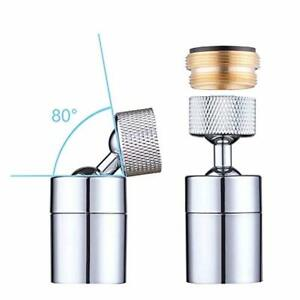 Hibbent Dual-function Female Faucet Aerator Extra Big Angle Rotate Kitchen Sink