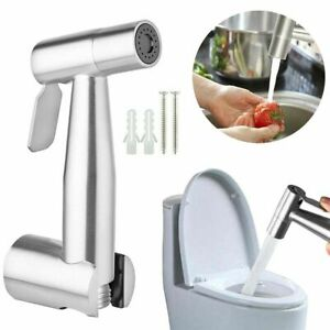 Toilet Bidet Sprayer Stainless Steel Hand Held Shattaf Bathroom Shower Head US
