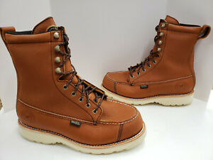 Red Wing 9quot; WINGSHOOTER Waterproof Soft Toe Boots 894 Tan Brown D or EE Width