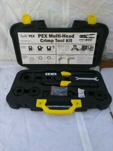 Apollo Multi-Head PEX Crimp Plumbing Hand Tools Kit 69PTKH0015K