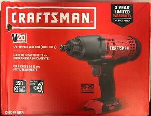 NEW CRAFTSMAN CMCF900B V20 1 2quot; IMPACT WRENCH TOOL ONLY $98.25