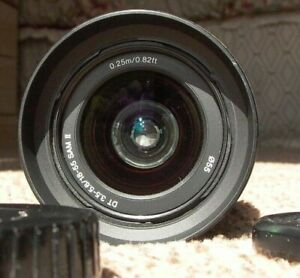 Sony APS C SAM ll 18 55mm 3.5 5.6 A mount zoom lens ALL SONY APS C A mount 9 $78.88