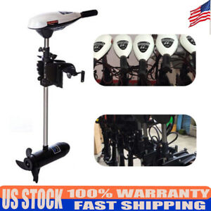 65LBS Electric Outboard Engine Boat Trolling Motor for Fishing Boat Kayak 660W