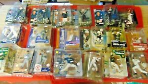 Mcfarlane NFL FOOTBALL NASCAR MLB NHL MIXED LOT Action Figure Lot of 19 NRMNT