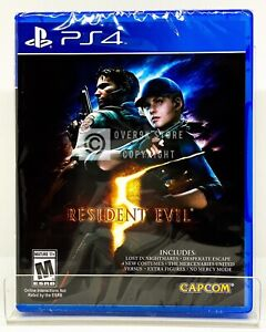 Resident Evil 5 PS4 Brand New Factory Sealed