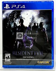 Resident Evil 6 PS4 Brand New Factory Sealed