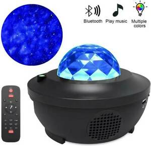 10 Colors USB LED Galaxy Projector Starry Night Lamp Star Sky Projection Decor