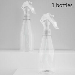200ML Portable Plastic Spray Bottle Transparent Fine Mist Water Sprayer Tool New