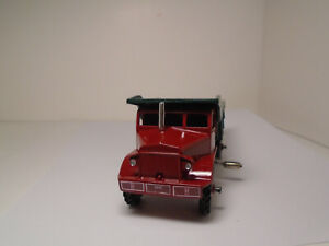 DINKY SUPERTOYS #965 EUCLID REAR DUMP TRUCK RESTORED IN 1946 COLORS. NEAR MINTY