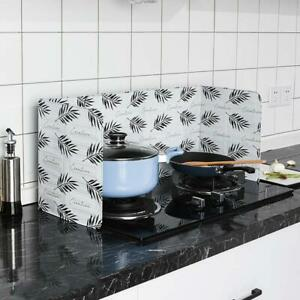 Folding Cooking Oil Splash Screen Cover Anti Splatter Kitchen
