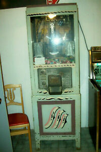 1931 Mutoscope Iron Claw Prize Digger Arcade Machine - Works!  (Pick-Up in Indy)