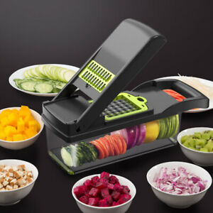 Kitchen Mandoline Slicer Vegetable Cutter Potato Peeler Carrot Grater Dicer NEW