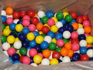 Double Bubble One Inch Gumballs Assorted Flavors 5 Pound Box GUM BALLS 1 inch $18.99