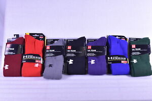 Unisex Adult Under Armour Team Over the Calf Socks Choose Color $8.99