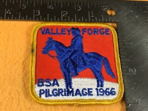 E2 80 BOY SCOUT OF AMERICA PATCH 1966 VALLEY FORGE PILGRIMAGE
