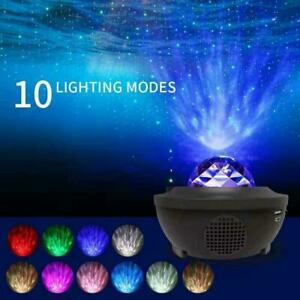 Colourful USB LED Galaxy Projector Starry Night Lamp Star Projection Night Light