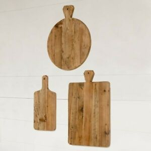 Lovecup Old Pine Farmhouse Cutting Boards Set of 3, L967  BRAND NEW IN BOX!!