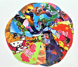 Kids face mask Reusable Colorful cute kids design thin light lowest cheap price
