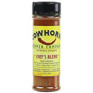 Pepper Company Chef's Blend Seasoning Made with Genuine Smoked Cowhorn Peppers
