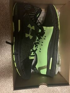 Men's Under Armour Speedform Slingride 1.1 Running Shoe Size 13 Green Black $65.00