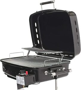 Camper Bumper Grill Camping Tailgating Gas Propane Cooking Surface Vacation Trip