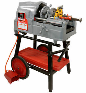 Reconditioned RIDGID® 535 V3 Pipe Threader with Steel Dragon Tools® 150A Cart  $3,899.99