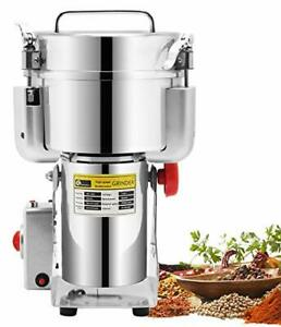 CGOLDENWALL 2500g Commercial Electric Grain Grinder Mill Spice Grinder Grain ...