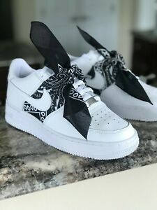 Custom Nike Air Force 1 FREE SHIPPING Bandana 10 10.5 7y 8 6.5y 6y 7.5 8.5 5.5y