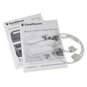 FoodSaver Tilia Accessory Hose for Wide Mouth & Reg Jar Sealers Vacuum Canisters