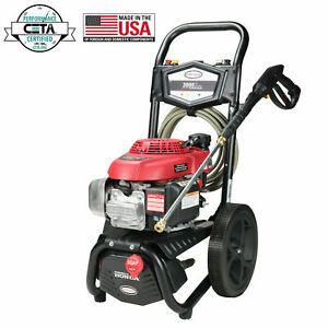 Simpson MegaShot 3,000 PSI 2.3 GPM Gas Pressure Washer, MS61001