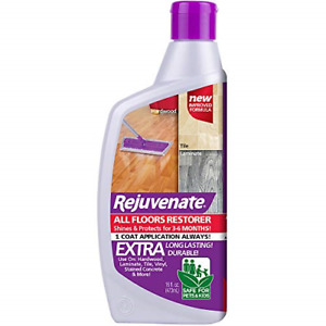 Rejuvenate All Floors Restorer and Polish Fills in Scratches Protects