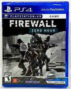 Firewall: Zero Hour VR PS4 Brand New Factory Sealed