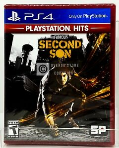 Infamous Second Son PS Hits PS4 Brand New Factory Sealed